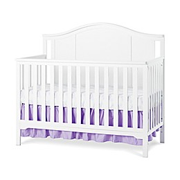 Child Craft™ Forever Eclectic™ Cottage Arch Top Convertible Crib in Matte White