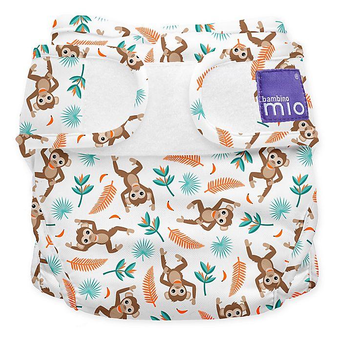 Alternate image 1 for Bambino Mio® Size 12-24M Miosoft Spider Monkey Reusable Diaper Cover