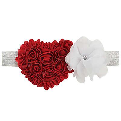 Tiny Treasures Heart and Flower Headband