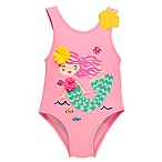 Wetsuit Club Size 3M 1-Piece Mermaid Swimsuit in Pink