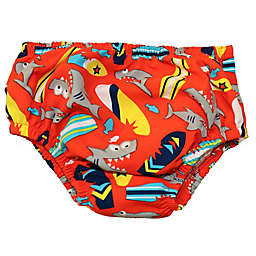 Swim Time Big Bite Reusable Swim Diaper in Red
