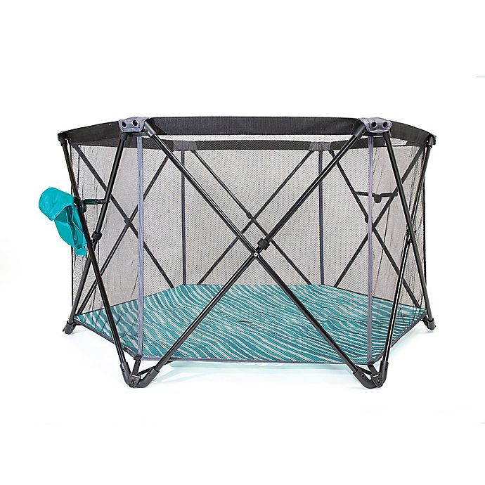 Alternate image 1 for Baby Delight  Go With Me Haven Portable Playard in Teal/Grey