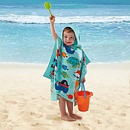 Under Sea Pirate Kids Hooded Towel