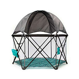 Baby Delight® Go With Me™  Eclipse Portable Playard in Teal/Grey