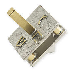 Little Spinner Hanukkah Dreidel in Silver/Gold