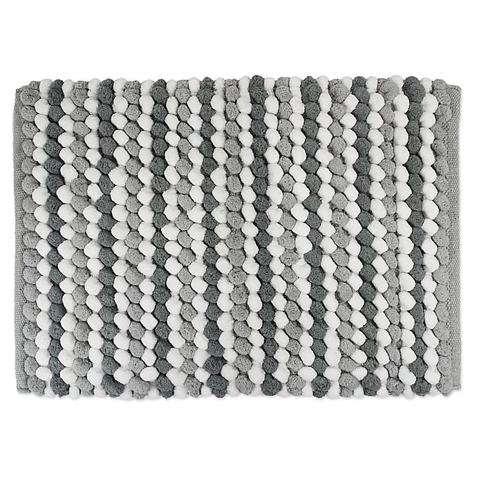 Alternate image 1 for Design Imports Chunky Striped Bath Mat