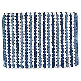 Design Imports Chunky Striped Bath Mat