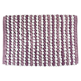 Design Imports Chunky Striped Bath Mat