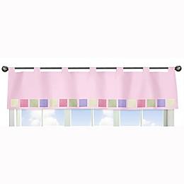 Sweet Jojo Designs® Butterfly Window Valance in Pink/Purple