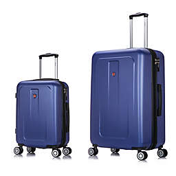 DUKAP® Crypto 2-Piece Hardside Spinner Luggage Set