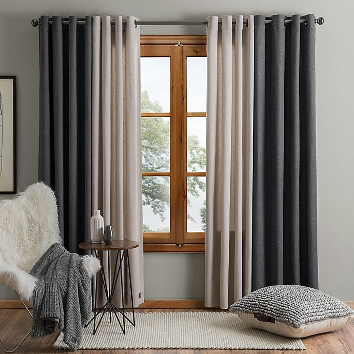 Alternate image 1 for UGG® Olsen Grommet Window Curtain Panel