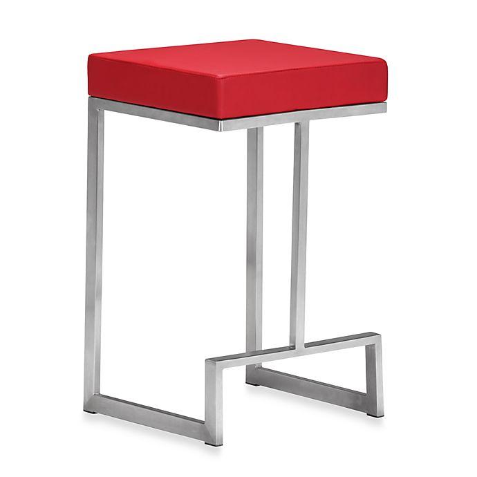 Zuo Modern Darwen Counter Chair Set Of 2 Bed Bath Amp Beyond