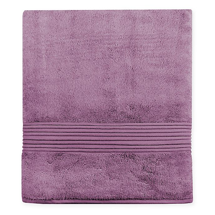 Alternate image 1 for Turkish Modal Bath Sheet in Plum