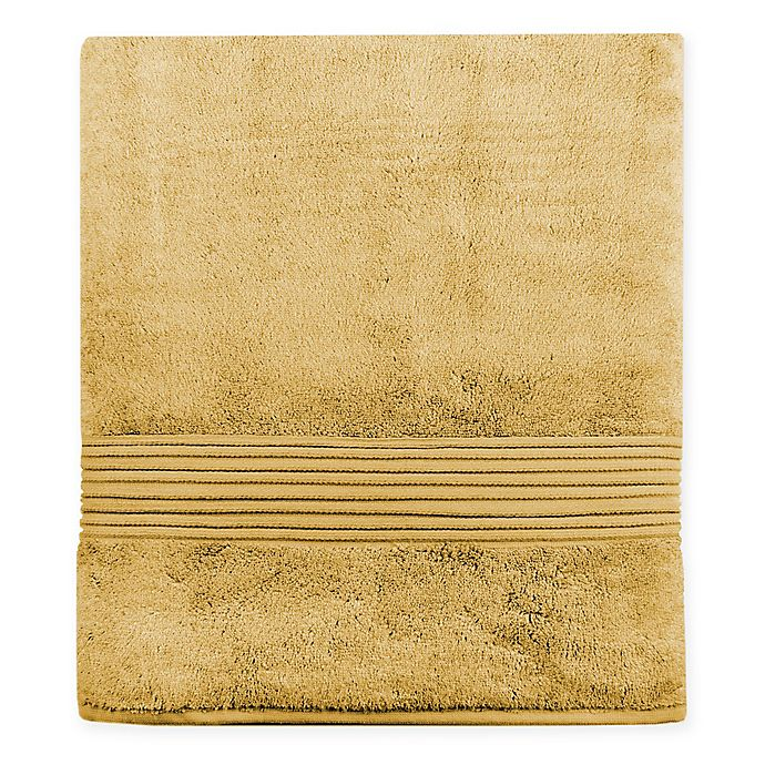 Alternate image 1 for Turkish Modal Bath Sheet in Mustard