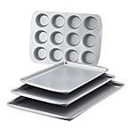 Farberware® 4-Piece Nonstick Bakeware Set<br />