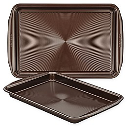 Circulon® Total Nonstick 2-Piece Baking Pan Set in Chocolate