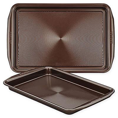 Circulon® Total Non-Stick 2-Piece Baking Pan Set in Chocolate