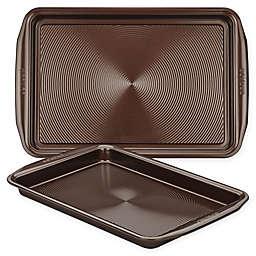 Circulon® Total Nonstick 2-Piece Baking Pan Set in Chocolate