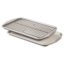 Circulon® Total Non-Stick 3-Piece Baking Pan Set in Grey