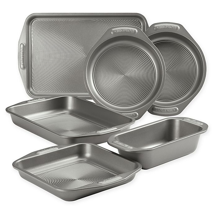 Alternate image 1 for Circulon® Total Non-Stick 6-Piece Bakeware Set in Grey