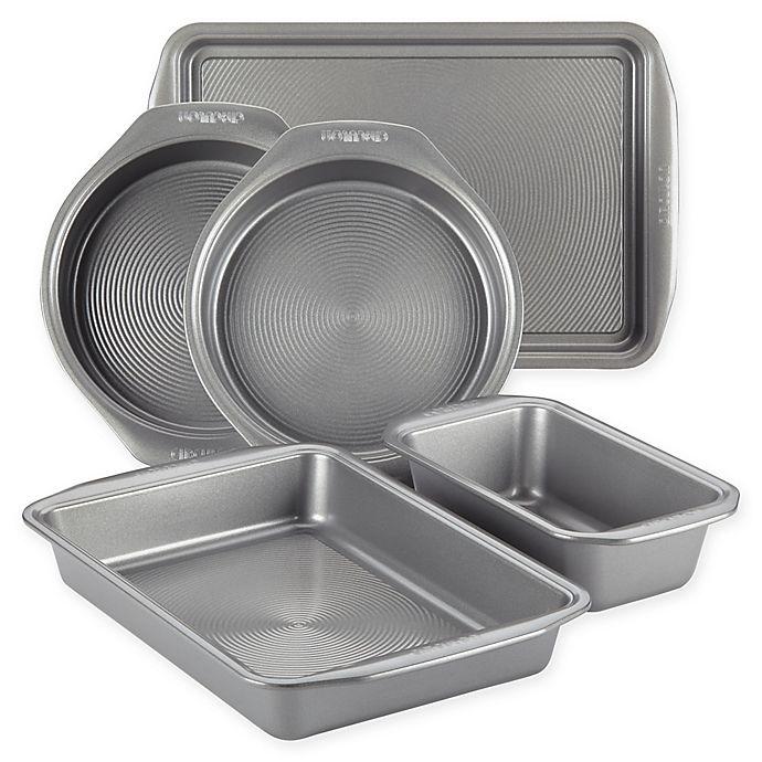Alternate image 1 for Circulon® Total Non-Stick 5-Piece Bakeware Set in Grey
