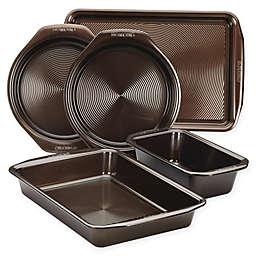 Circulon® Total Non-Stick 5-Piece Bakeware Set in Chocolate