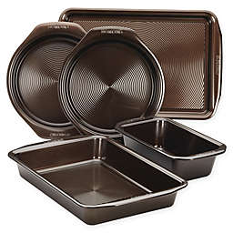 Circulon® Total Non-Stick 5-Piece Bakeware Set in Chocolate