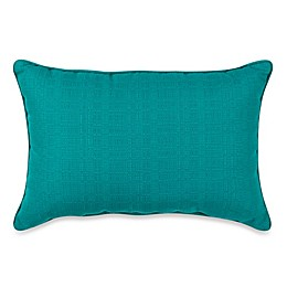 Medford Solid 13-Inch x 19-Inch Oblong Outdoor Throw Pillow