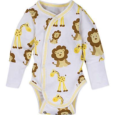 Miracle Wear™ Newborn Posheez Snap'n Grow Long sleeves Bodysuits (3-Pack)