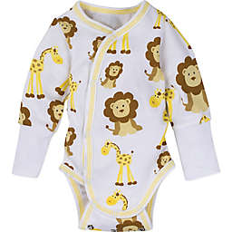 Miracle Wear™ Newborn Posheez Snap'n Grow Long Sleeve Bodysuit