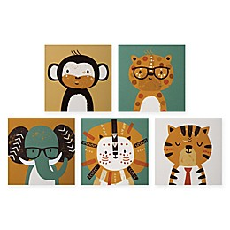 Trend Lab® Safari Framed Canvas Set of 5