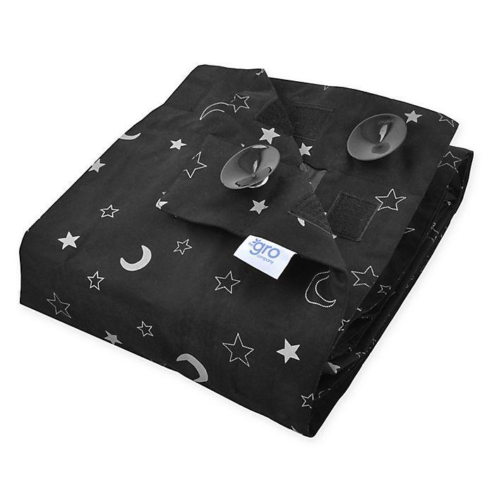 Alternate image 1 for Tommee Tippee® Gro Anywhere Portable Blackout Blind in Black/White