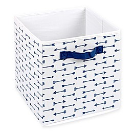 The Peanutshell™ Large Foldable Tote in Navy Arrows