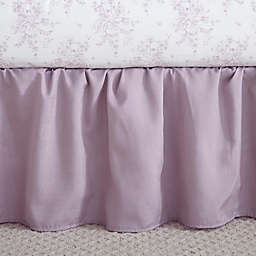 Levtex Baby® Heritage Crib Skirt in Lilac