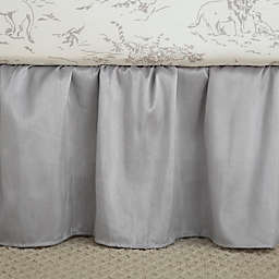 Levtex Baby® Heritage Crib Skirt in Grey