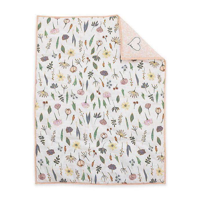 Alternate image 1 for ED Ellen DeGeneres Painterly Floral Comforter in Pink