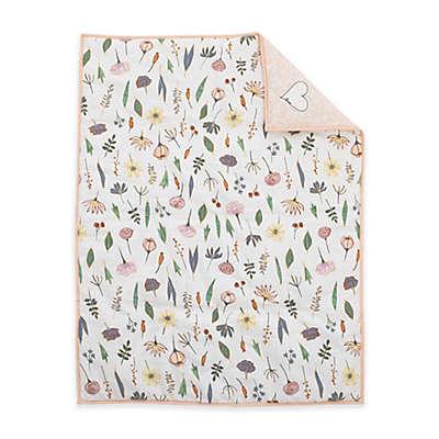 ED Ellen DeGeneres® Painterly Floral Crib Comforter in Pink