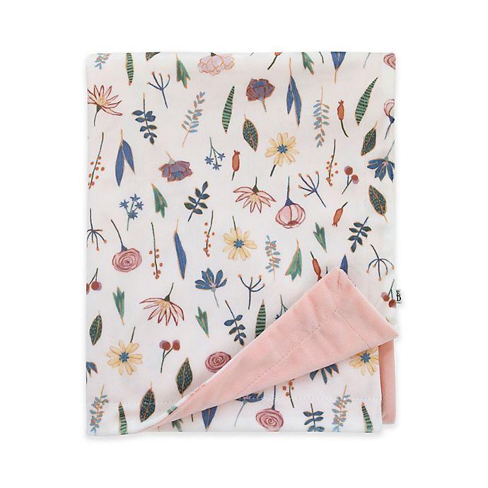 Alternate image 1 for ED Ellen DeGeneres Painterly Floral Baby Blanket in Pink