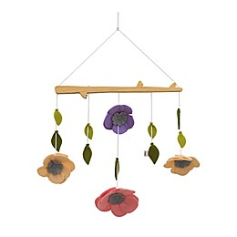 ED Ellen DeGeneres Painterly Floral Ceiling Mobile in Lavender