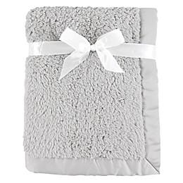Hudson Baby® Sherpa Blanket in Grey