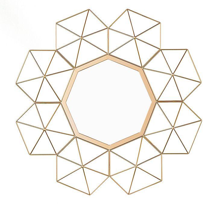 Alternate image 1 for Southern Enterprises Vallani Sunburst Mirror in Gold