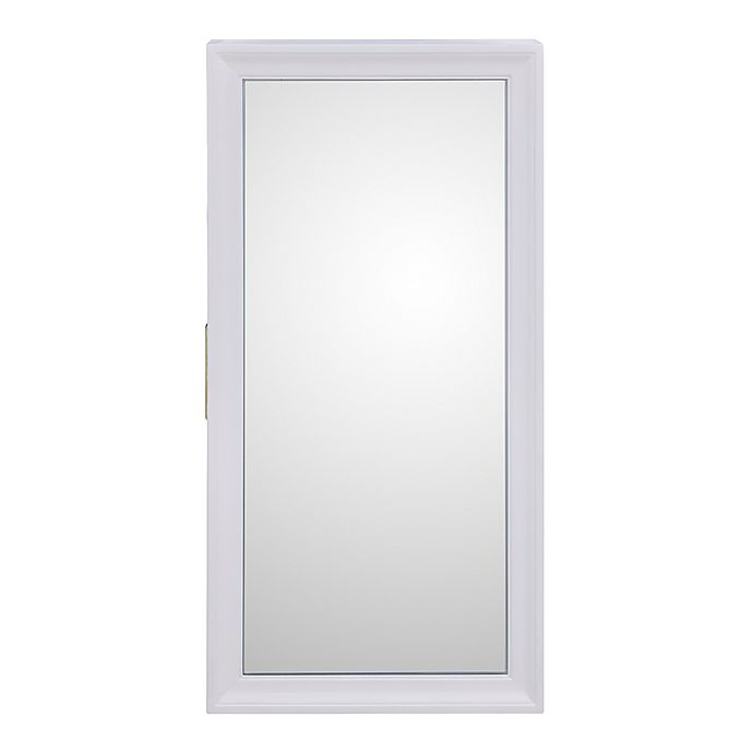 Alternate image 1 for Southern Enterprises Bronwyn Jewelry Mirror in White/Ivory