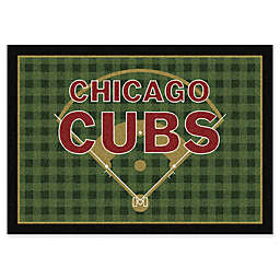 MLB Team Field Chicago Cubs Area Rug