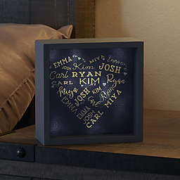 Close To Her Heart LED Light Shadow Box