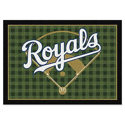 MLB Team Field Kansas City Royals Area Rug