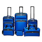 Lucida 6-Piece Luggage Set Closeout in Teal