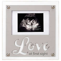 Maiden Love First Sight Sonogram Photo Frame in Grey