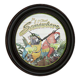 Margaritaville Its 5 O'Clock Somewhere 26-Inch Wall Clock