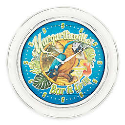 Margaritaville Bar & Grill 26-Inch Indoor/Outdoor Wall Clock