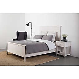 Bee & Willow™ Home Wood Slat Bed in White Wash